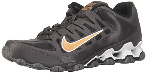Nike Herren Reax 8 TR MESH Cross-Trainer, Mehrfarbig (Thunder Grey/Metallic Copper 007), 46 EU