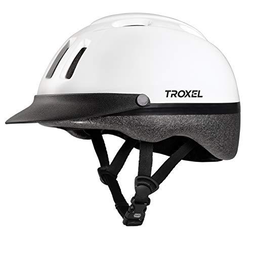 Troxel Sport Helmet, White, X-Small