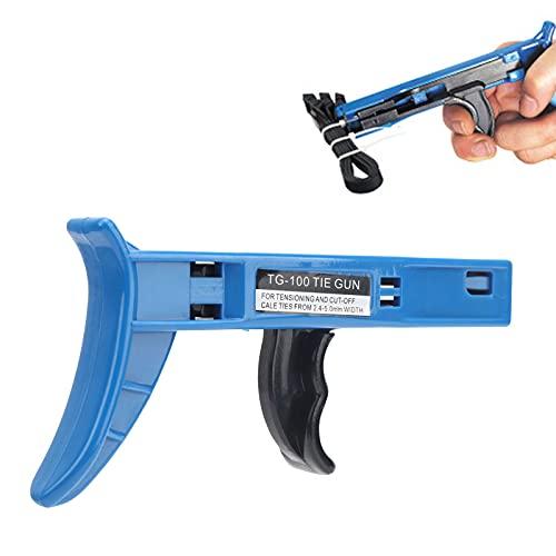 Pistola de sujeción, herramienta para sujetar cables que se estira rápidamente para...