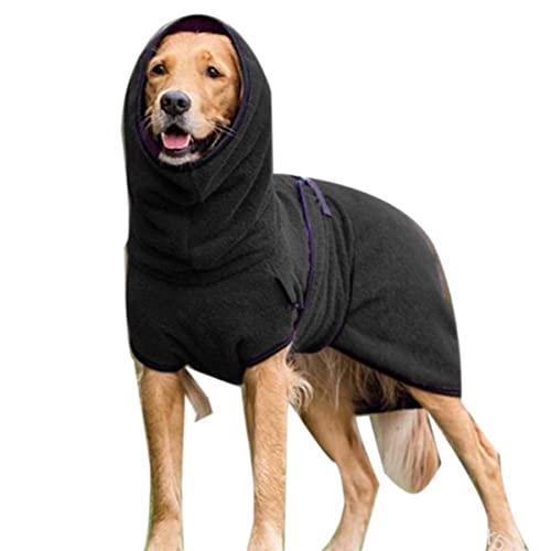5XL Winter Warme Haustierkleidung Hund Dicke Warme Kleidung Mantel Fleece Samt Für Mittelgroße Hunde Wolfshund Shepherd Kleidung