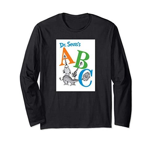 Dr. Seuss ABC Book Cover Long Sleeve T-Shirt