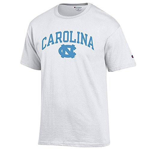 Elite Fan Shop North Carolina Tar Heels Tshirt Varsity White - M
