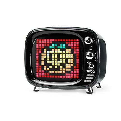 Divoom Tivoo Retro Bluetooth Speaker - Pixel Art DIY Box, RGB...