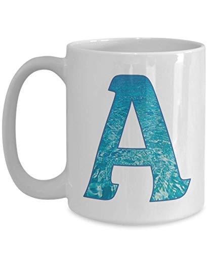 N\A Taza con Monograma Aegean Fill