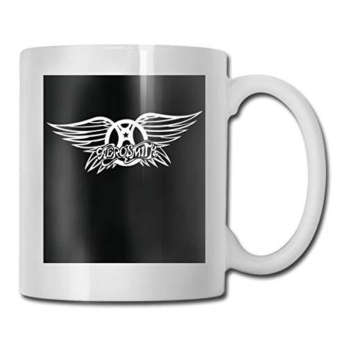 HOLEBBBE Novelty Mug Aero-Smith- Einzigartig Tasse Tee Becher Kaffee Becher Für Office/Home 300ML