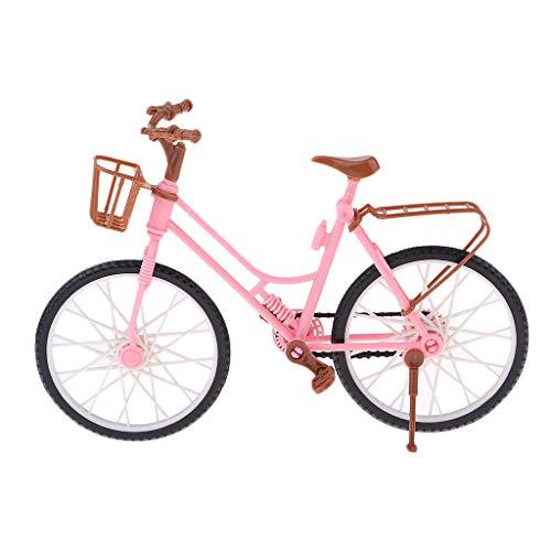 P PRETTYIA Miniatura Bicicleta Escala 1/6 Accesorios Juguete Pretender para Niños - #4