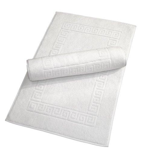 Linum Home Textiles Clé Grecque Tapis de Bain, Lot de 2