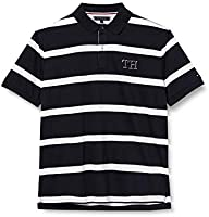 Tommy Hilfiger Heren Blok Streep Regular Polo Shirt