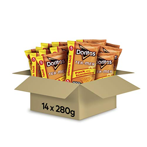 Doritos Tortilla Chips – Paquete de 14 x 280 gr – Total: 3920 gr