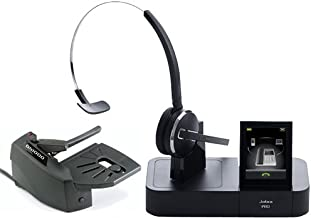 Jabra PRO 9470 Mono Wireless Headset with GN1000 Remote Handset Lifter
