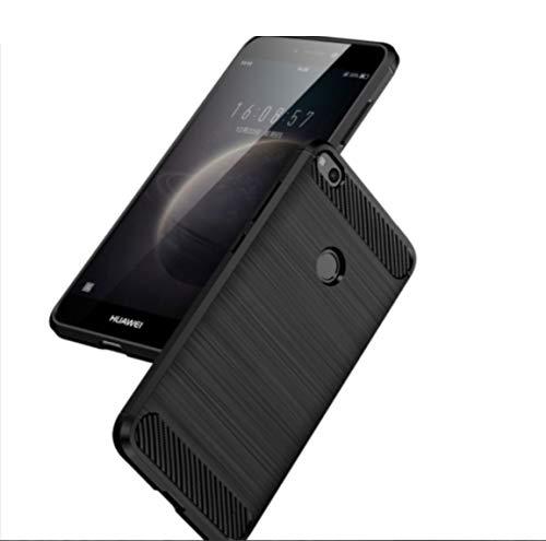 Compatibile Pour Huawei P8 Lite ALE-L04, ALE-L01 ALE-L02 ALE-L21 ALE-UL00 Couverture Touches Housse Etui Gel Silicone TPU Souple Carbone Antichoc