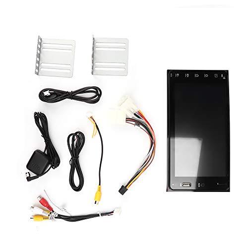 Sistema de Navegación para Automóvil, 7 Pulgadas Navegación GPS para Automóvil Radio Estéreo USB Bluetooth Reproductor MP5 Reproductor de Radio Enlace Espejo para Android