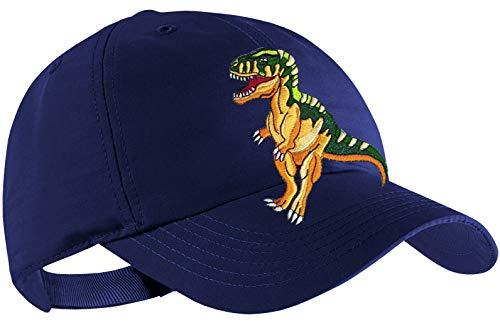 Blackshirt Company Dinosaurier Schildmütze Kinder Base Cap Dino Rex Farbe Blau