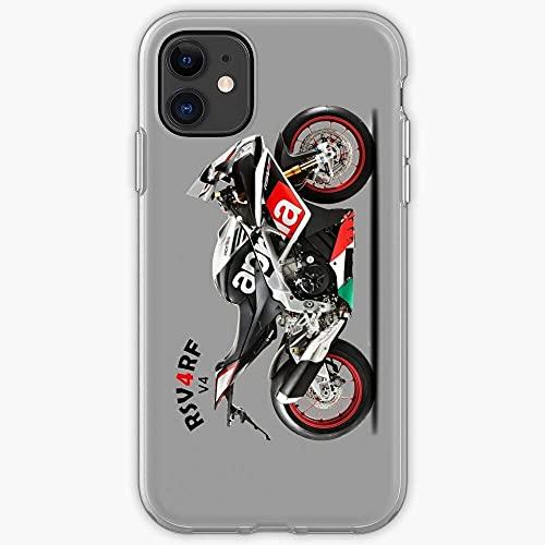 Compatibile con Samsung/iPhone 12/11/X/XR/7/Xiaomi Redmi 9A/Note 9/10/8 Pro Custodie Aprilia Rsv4 Sports Bike Rf Superbike Transportation Motorcycle Transport Custodie per Telefoni Cover