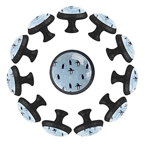Juego de 12 pomos con tornillos para armarios de cocina, cajones, tiradores y tiradores para decoración del hogar 28561