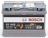 Zoom IMG-1 bosch s5a08 batteria silver auto