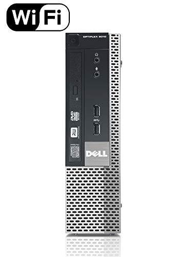 Mejor Dell Optiplex 9010 Tower TW High Performance Business Desktop Computer, Intel Quad Core i5-3470 up to 3.6GHz, 8GB Memory, 2TB HDD, DVD, USB 3.0, WiFi, Windows 10 Professional (Renewed) crítica 2020