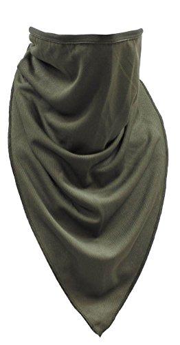 MFH Tactical Schal atmungsaktives Halstuch Shemagh Dreieckstuch Wetterschutz viele Farben (Oliv)