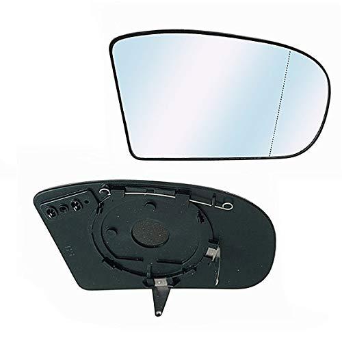 Derecho Lado Del Conductor Ala Gran Angular Cristal Espejo Para CITROEN C5 08-16 climatizada