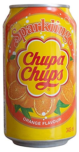 Chupa Chups Sparkling Orange Flavour Soda (24 x 0,345 l), penna a sfera FiveStar inclusa