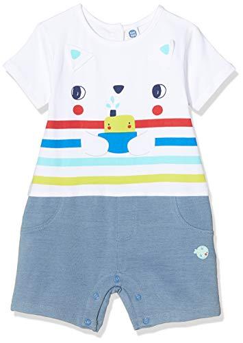 Tuc Tuc Agua Gato Mono, Azul (Azul 16), Recién Nacido (Tamaño del Fabricante: 0M) para Bebés
