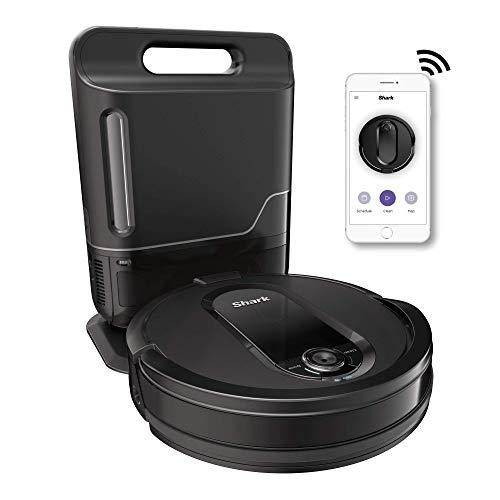 Shark IQ App-Controlled Self-Charging Robot Vacuum, RV100AE/UR1000SR - Black (Renewed)