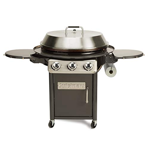 Cuisinart CGG-999 30-Inch Round Flat Top Surface Outdoor, 360° XL Griddle Cooking Station