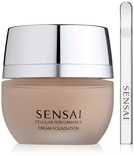 Kanebo Sensai Cellular Performance femme/woman, Cream Foundation CF22 Natural beige, 1er Pack (1 x 30 ml)