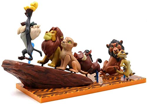 GYINK Anime Characters Lion King Simba Action Figure Doll Toy 3-6 Cm PVC Pumbaa Timon Models Collections Kids Gifts