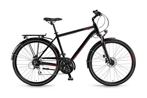 """Winora Domingo 24Disc Trekking Bike 2019 (28\"""" Herren Diamant 56cm, Schwarz/Lasurrot Herren)"""
