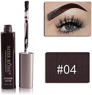 OcamoEyebrow Cream Waterproof Long-lasting Eyebrow Cream Brow Makeup Tool 04#