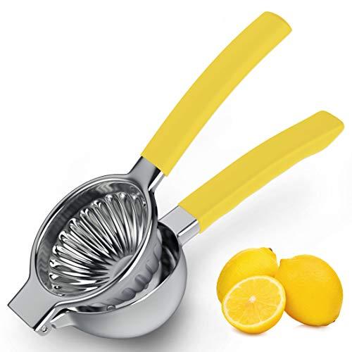 JKZJ Exprimidor Limón Duradero de Acero Inoxidable 304, Exprimidor Naranjas Manual de...