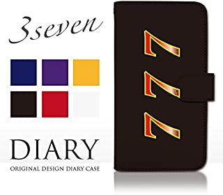 KYV35(TORQUE G02):L 手帳型 ケース [スリーセブン 777 ギャンブル] 京セラ au dy001-00170-01 スマホ カバー ブックレット