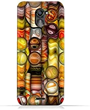 infinix Hot 4 Pro X556 TPU Silicone Protective Case with Abstract Bubble Background