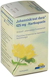 St. John's wort dura® 425 mg Made in Germany