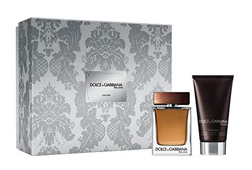 Dolce & Gabbana The One Men 2Pc Set 1 x Edt 50ml Spray & 75ml AfterShave Balm