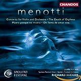 Menotti: Concerto for Violin & Orchestra