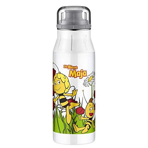 alfi elementBottle Trinkflasche, Kinderflasche, Sportflasche, Edelstahl, Biene Maja, 0,6 Liter