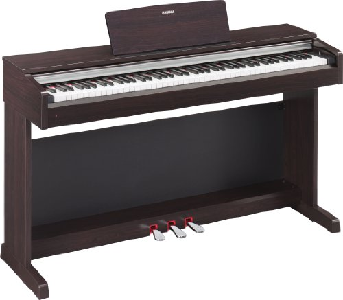 Yamaha YDP142R Arius Series Traditional Console Digital Piano with Bench, Rosewood (OLD MODEL)