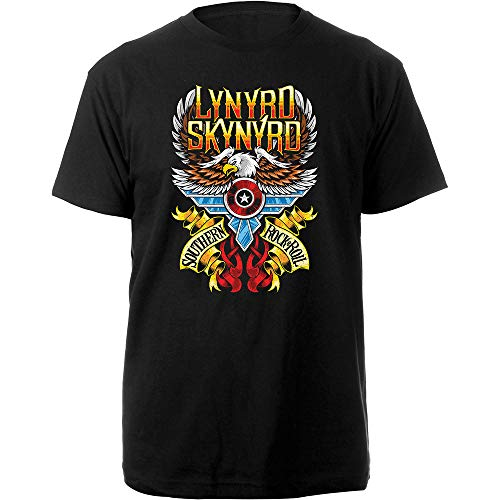 Lynyrd Skynyrd LSTS02MB03 T-Shirt, Schwarz, Größe L