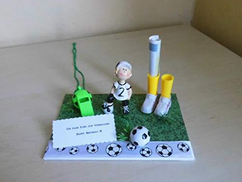 Geldgeschenk Dekoration Fußball - Fussball