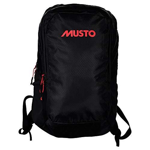 Musto 31L Commuter Backpack Rucksack Bag - Black - Unisex - Tissu en Tissu uni avec apprêt DWR et PU