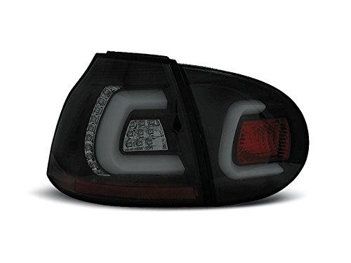 Shop Import 1 paar achterlichten Golf 5 03-09 zwart LED LTI (WA4)