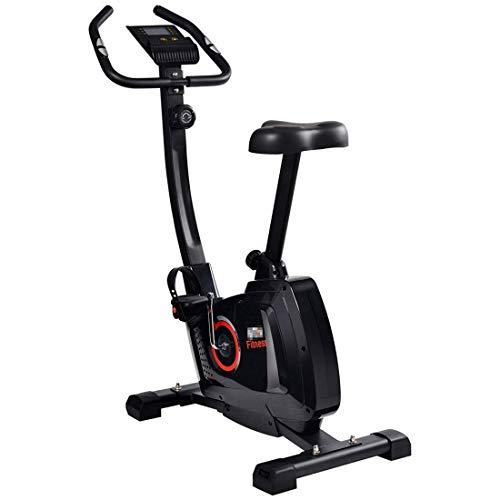 SXXYTCWL BGB108 contrôle magnétique intérieur Spinning vélo Fitness vélo avec Moniteur de fréquence Cardiaque Affichage LCD poignée (Couleur: Rouge) jianyou (Color : Red)