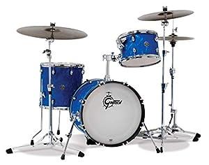 Gretsch Drums Drum Set, Blue Satin Flame (CT1-J403-BSF)