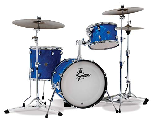 Gretsch Schlagzeug Set, Blue Satin Flame (CT1-J403-BSF)