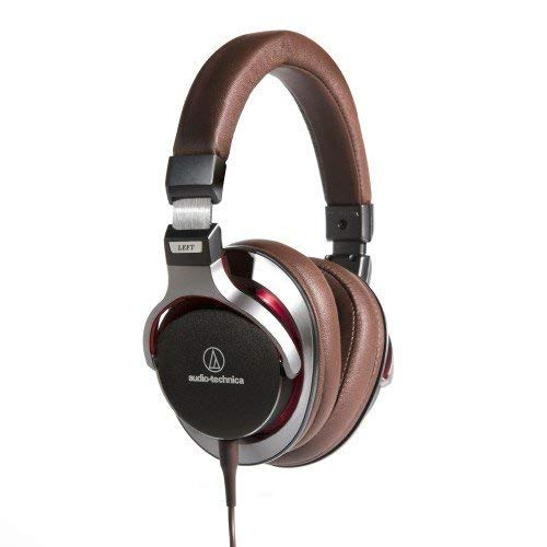 Audio-Technica ATH-MSR7GM SonicPro Over-Ear High-Resolution Audio Headphones, Gun Metal Gray (Renewed)