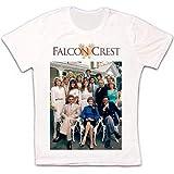 Falcon Crest 80s TV Series Logo Retro Vintage Hipster Unisex T Shirt