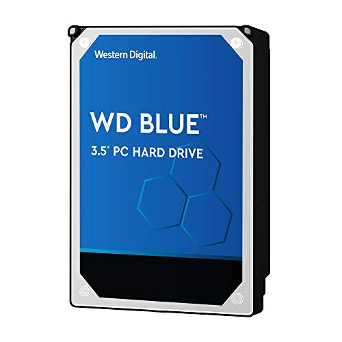WD Blue 6TB PC Hard Drive - 5400 RPM Class, SATA 6 GB/S, 256 MB Cache, 3.5' - WD60EZAZ