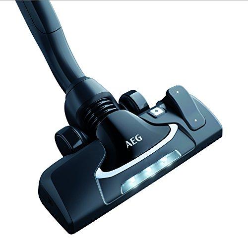 AEG AZE141 Precision Flow Kombidüse mit LED Frontlicht (Für Hartboden und Teppich, einfache Handhabung, schonende Reinigung, Teppichmodus, optimale Staubaufnahme, leise, für 36mm Ovalrohr, schwarz)